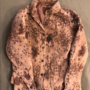Authentic Washable Suede Blouse size Small